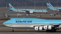 Korean Air a anunţat că va scădea numărul de zboruri către Japonia
