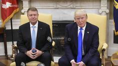 Preşedintele României, Klaus Iohannis se întâlneşte cu Donald Trump, la Washington