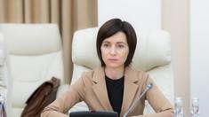 Maia Sandu: Vizita ministrului rus al apărării nu poate fi considerată oficială