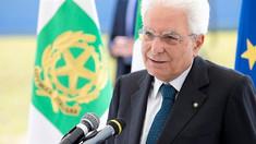 Preşedintele Italiei, Sergio Mattarella, a acceptat demisia guvernului