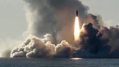 Rusia a testat rachete balistice lansate de pe submarine în Marea Barents