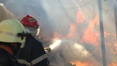 Incendiu într-un apartament din Chișinău. Proprietara, de 72 de ani, internată cu cu arsuri de gradul I și II