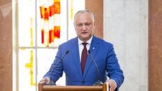 Igor Dodon, după ședința CSS: statul vrea să-și recupereze dreptul de gestiune asupra aeroportului