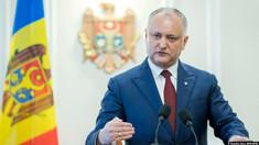 Igor Dodon: Nu cred că Moldova va deveni membră a UE