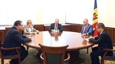Igor Dodon s-a întâlnit cu Peter Michalko. Organizarea unei vizite la Bruxelles, printre subiectele de discuții