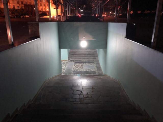 Pasajul pietonal subteran din strada Ciuflea este renovat