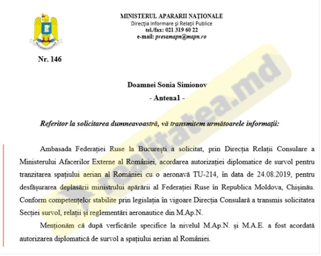 Şoigu va ocoli Ucraina prin UE ca să ajungă la Chișinău. Ministrul rus a obținut autorizația de a survola România