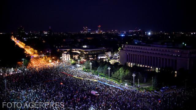 Presa străină a alocat spatii ample protestului de sâmbătă din Piaţa Victoriei de la București