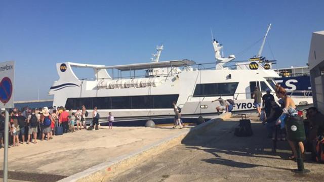 Turiștii blocați pe Insula Samothrakis. Ministrul de Externe de la București anunță câți români au fost evacuați până acum