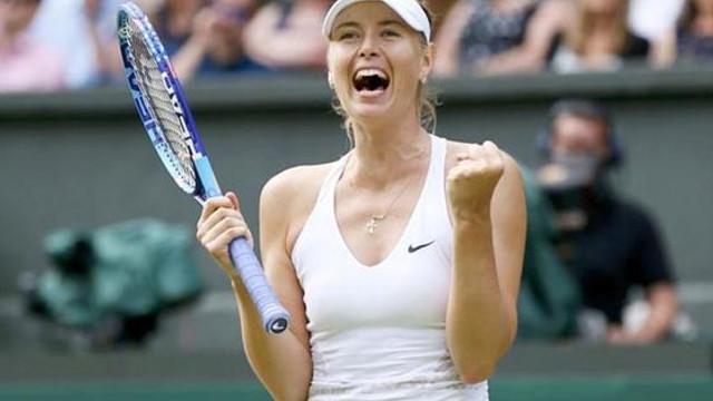 Tenis: Maria Şarapova, debut victorios la turneul de la Cincinnati (WTA)