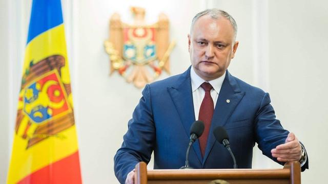 Igor Dodon, despre noul acord între PSRM-ACUM