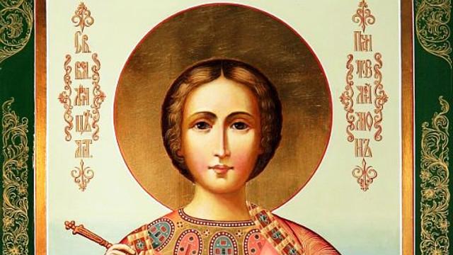 Vineri, creștinii ortodocși de stil vechi îl pomenesc pe Sfântul mucenic Pantelimon, vindecătorul de boli