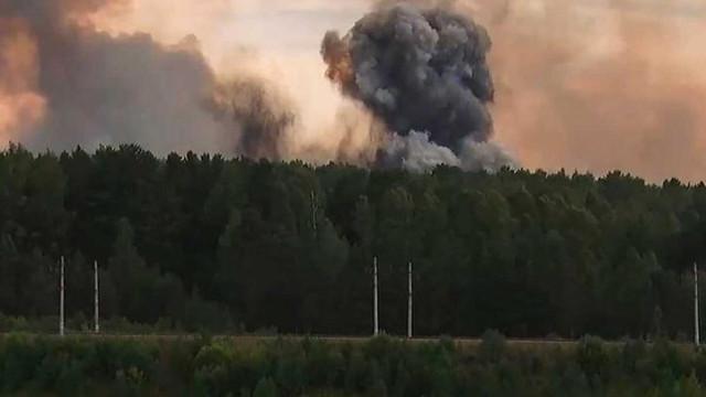 Rusia | Autoritățile au anunțat bilanţul victimelor exploziilor de la depozitul de armament