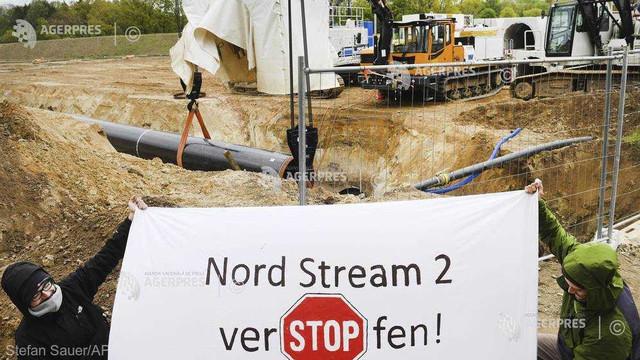 Problemele din Danemarca ar putea majora cu 660 de milioane de euro costul proiectului Nord Stream 2