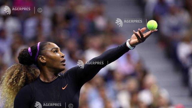 Tenis: Serena Williams a învins-o pe Maria Şarapova în primul tur la US Open