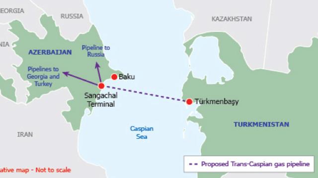 Rusia încearcă să blocheze accesul gazelor turkmene pe piața UE