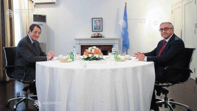 Cipru | Liderii ciprioți și grec s-au întâlnit pentru a relansa discuțiile de pace blocate