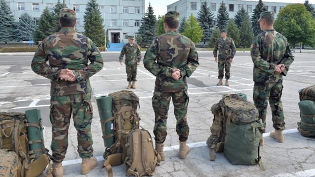 Militarii Armatei Naționale se instruiesc în Germania