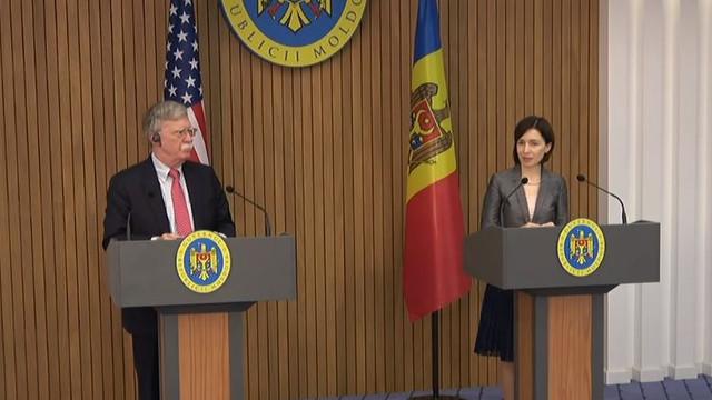 Un nou plan de acțiuni R.Moldova – NATO a fost anunțat de Maia Sandu, după discuția cu John Bolton la Chișinău
