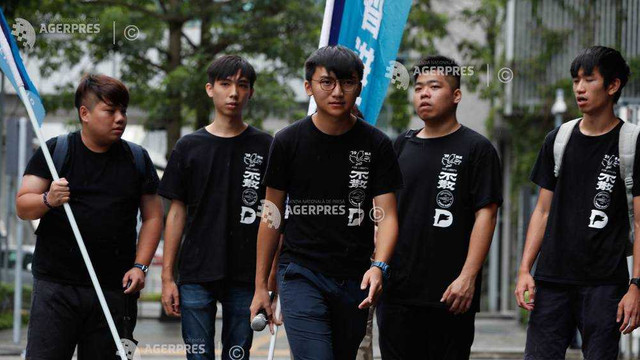China: Organizatorii anulează un marș de protest în Hong Kong după arestarea unor activiști proeminenți