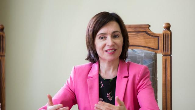 Maia Sandu a avut prima vizită în teritoriu, în raionul de baștină a fostului premier Pavel Filip