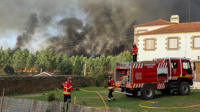 Atenționare de călătorie pentru cetățenii români privind incendii de vegetație în Portugalia