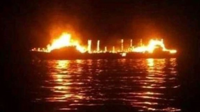 Cel puţin 20 de persoane date dispărute după un incendiu pe un feribot din Indonezia