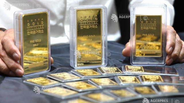 Prețul unciei de aur depășește pragul psihologic de 1.500 dolari, pe fondul războiului comercial americano-chinez