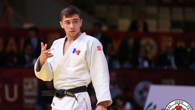 Denis Vieru a adus acasă medalia de bronz obținută la mondialul de judo