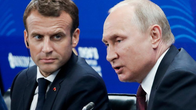 Vladimir Putin, către Macron: Nu vreau ca proteste similare cu