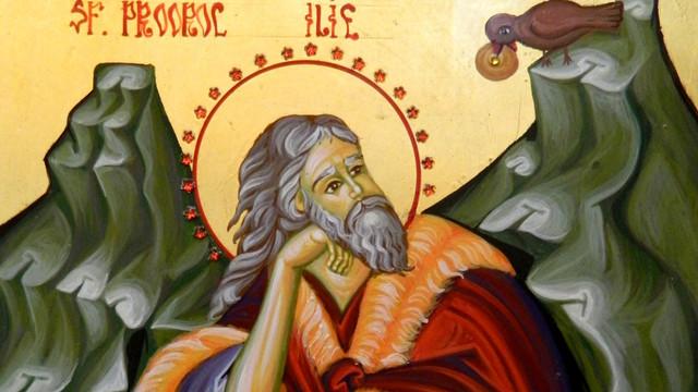 Creștinii ortodocși de stil vechi îl prăznuiesc astăzi pe Sfântul Proroc Ilie Tesviteanul