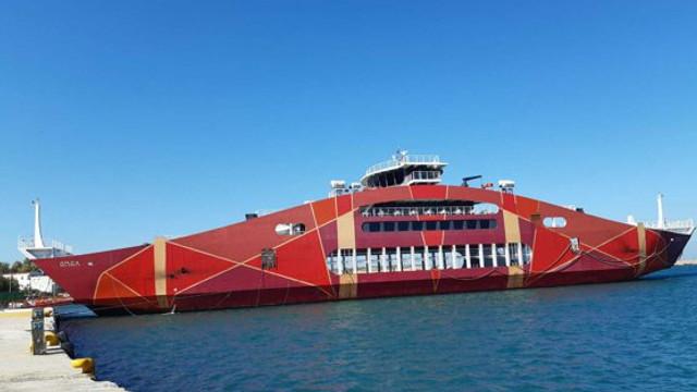 Grecia | Cursele cu feribotul, pentru pasageri şi autovehicule, reluate către Insula Samothrakis
