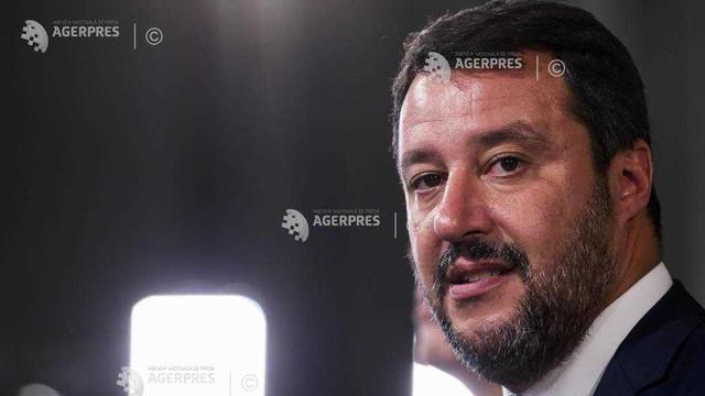 Matteo Salvini lansează un apel la o amplă manifestaţie la Roma, pentru 19 octombrie