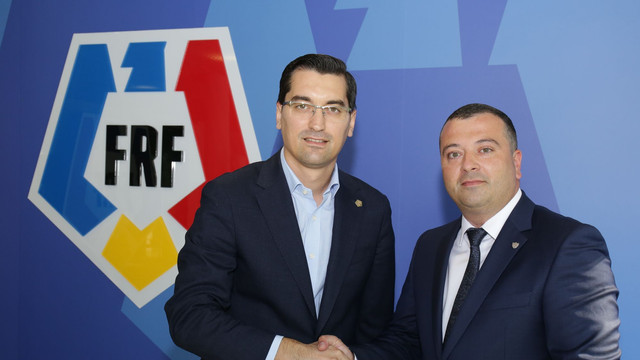 Acord istoric între federațiile de fotbal din România și Rep. Moldova