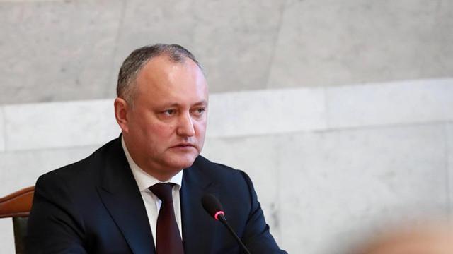 Igor Dodon a promulgat, în regim de urgență, legea privind anularea votului mixt