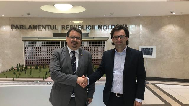 Nicu Popescu s-a întâlnit cu Peter Michalko