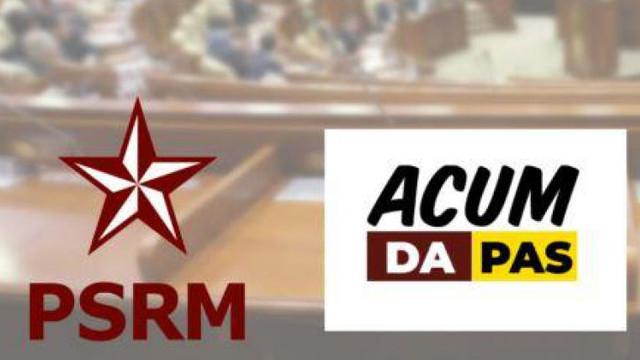 PSRM vrea un nou acord cu blocul ACUM