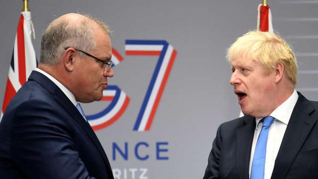 Premierul australian afirmă că Boris Johnson l-a convins că poate gestiona Brexitul