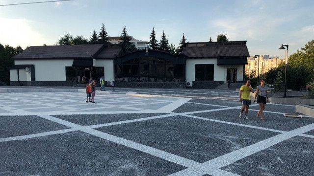 FOTO | Havuzul muzical din Valea Trandafirilor este gata și va fi inaugurat duminică