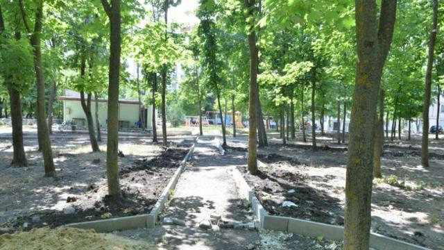 Două spații de agrement vor fi date în exploatare la Ciocana la sfârșitul lunii