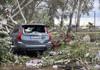 Zone din Grecia, lovite de ploi torenţiale şi grindină după o vară secetoasă