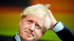 Premierul britanic, Boris Johnson, huiduit de protestatari, la Luxemburg
