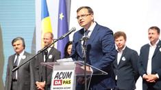 ACUM s-a lansat în campania pentru alegerile din 20 octombrie. Andrei Năstase: Avem nevoie de oameni responsabili, de încredere