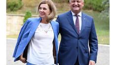 Igor Dodon a avut o întrevedere informală cu șefii misiunilor diplomatice