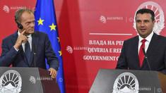 Donald Tusk cere începerea procesului de aderare la UE a Macedoniei de Nord