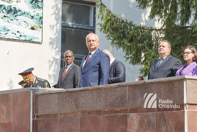 GALERIE FOTO | În Republica Moldova este sărbătorită Ziua Armatei Naționale