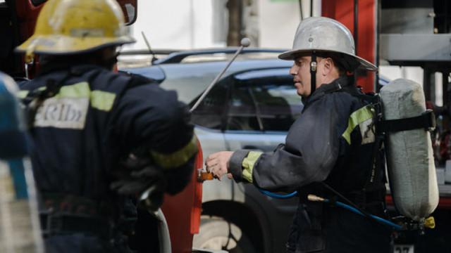 Incendiu într-un hotel din Capitală