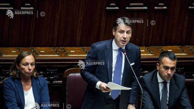 Italia: Premierul Giuseppe Conte pledează pentru îmbunătățirea ''pactului de stabilitate'' al UE