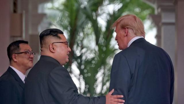 Kim Jong-un l-a invitat pe Donald Trump într-o vizită la Phenian