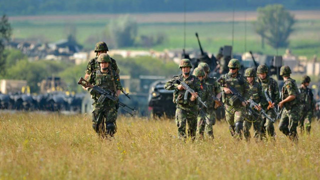 Miliarii ruși de la Cobasna au desfășurat un exercițiu tactic militat